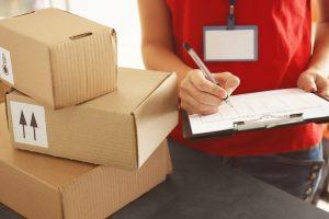 Sprendžiant, kaip jūsų klientams bus pristatomos siuntos